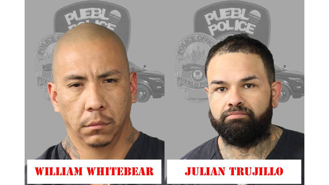 Two arrested on drug and theft charges in Pueblo