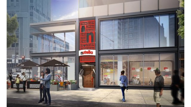 World's first official Nutella Cafe to open in Chicago
