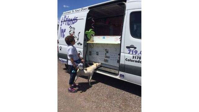 Doggie ice cream truck with treats for pups coming to Colorado Springs