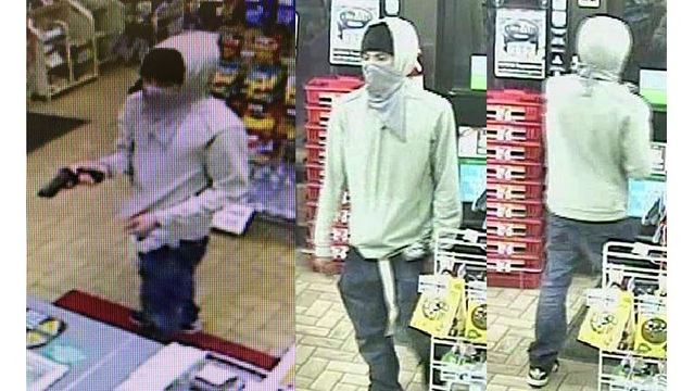 WANTED: Armed suspect who robbed 7-Eleven off B Street in Colorado Springs