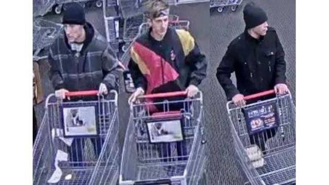 3 suspects sought in connection with theft at King Soopers off Constitution Ave.