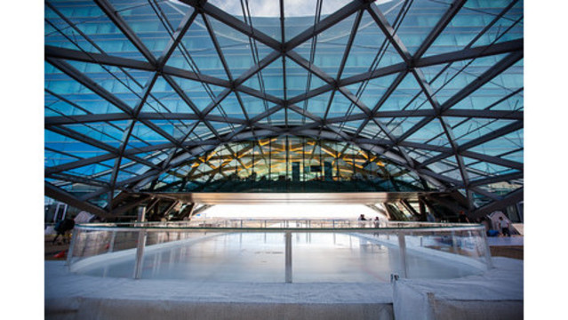 Free ice skating rink returns to DIA for second year