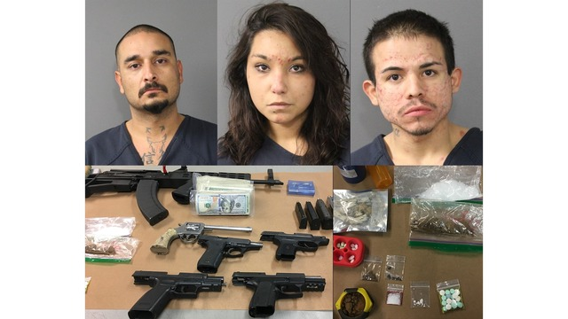 Three arrested in drug bust at Pueblo motel