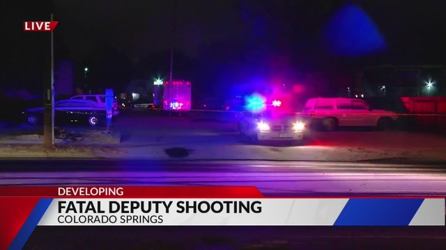 3 officers shot in Colorado Springs, suspect down