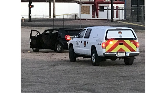 Police find body inside burning vehicle in Colorado Springs