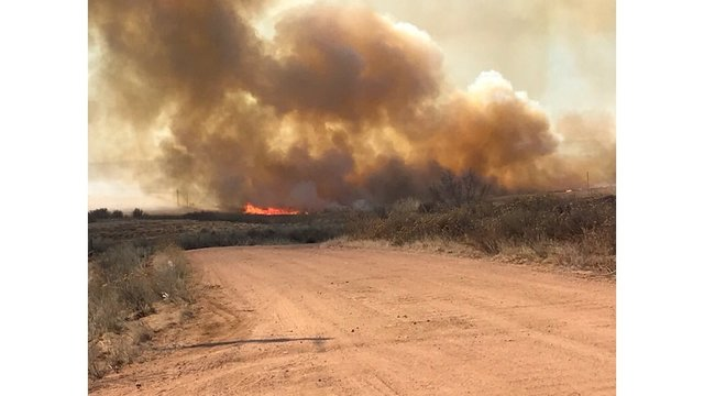Fort Carson wildfire burns 3300 acres; 80 percent contained