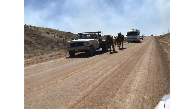 Sheriff's Office assessing damage to homes from Fort Carson fire