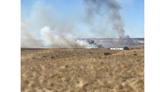 Wildfire starts on Colorado military post, burns 2100 acres