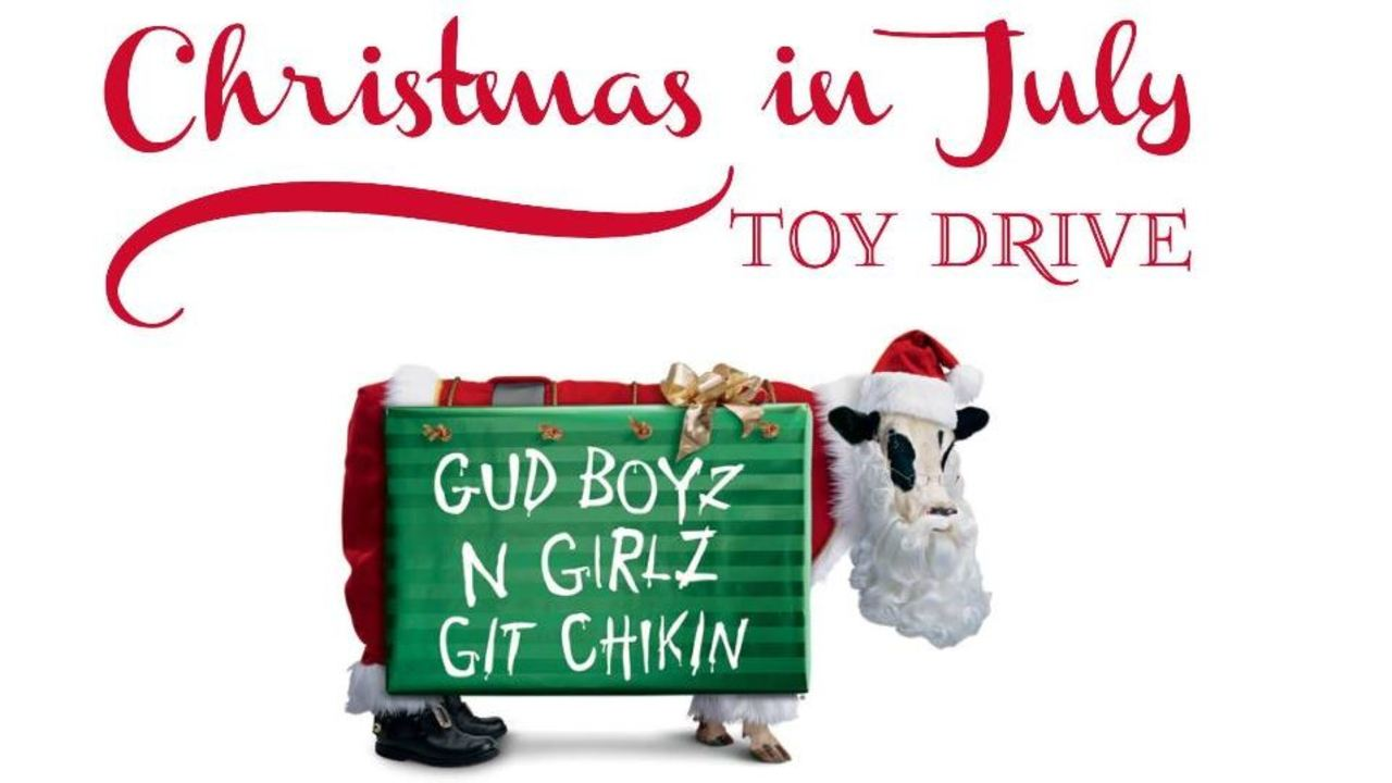 Chick-fil-A hosting Christmas in July Toy Drive to support military ...
