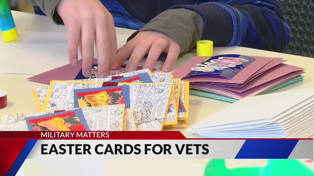volunteers make holiday cards for veterans in colorado nursing homes - Christmas Cards For Veterans