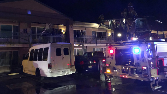 Electrical malfunction causes fire in attic of South Nevada Avenue motel