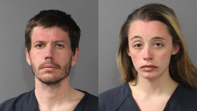 Two arrested after being spotted by helicopter crew fighting wildfire