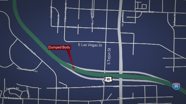 Severely decomposed body found along Fountain Creek