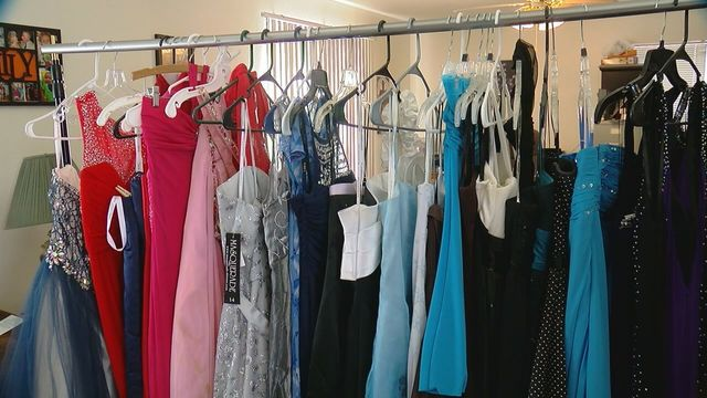 Colorado Springs Middle School Student Collecting Formal Dresses For
