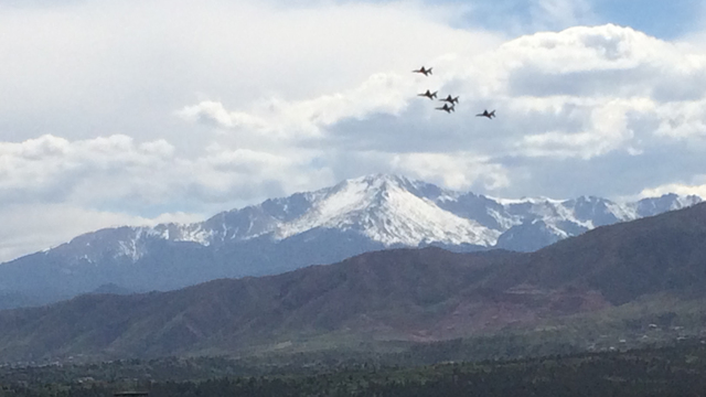 Thunderbirds to practice Tuesday, perform Wednesday at Air Force Academy graduation