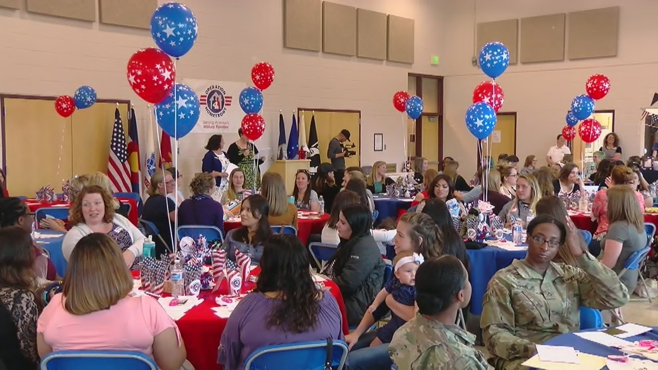 Operation Homefront Holds Baby Shower For Military Moms