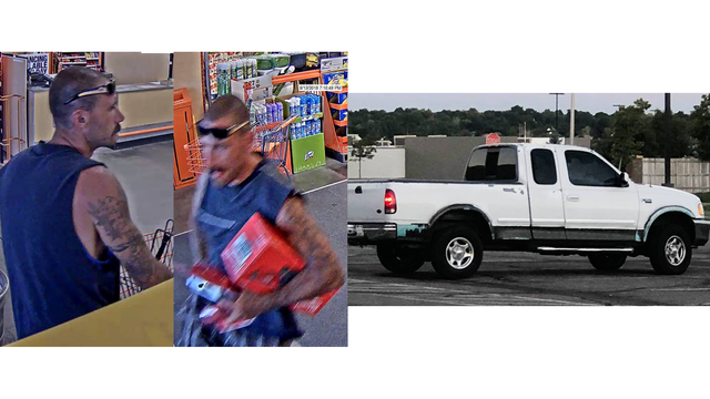 Police looking for man who shoplifted from Pueblo Home Depot