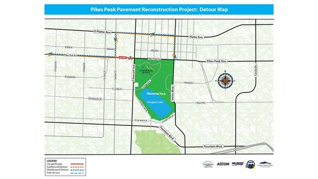 Intersection of Hancock and Pikes Peak to close two months for construction