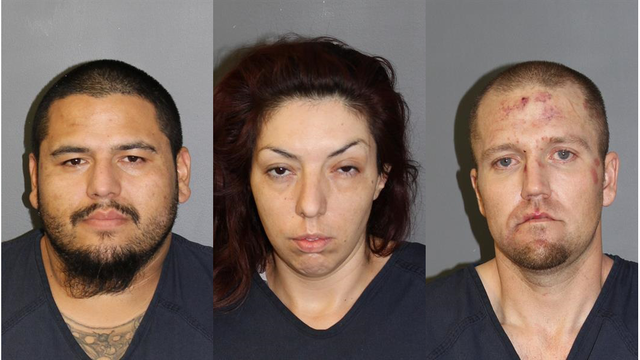 Three arrested after leading Pueblo County deputies on chase