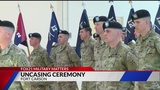 Uncasing ceremony welcomes back Fort Carson soldiers