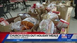Colorado Springs church gives out 150 Christmas dinners