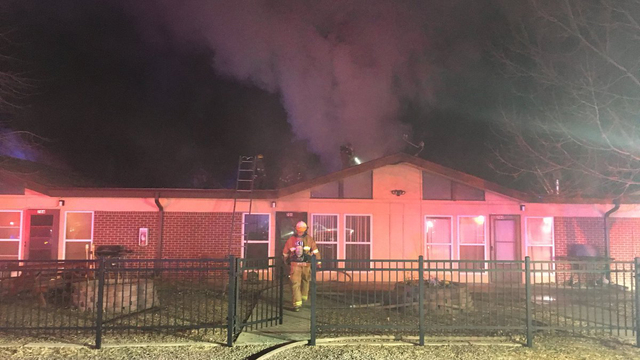 Investigators: Apartment fire that displaced 8 people was caused by plumbing work