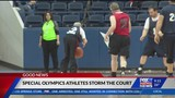 Special Olympics plays halftime game at Air Force