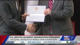 Students honored: 2019 U.S. Service Academy Nomination Ceremony