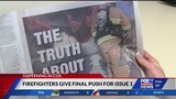 Firefighters give final push to Issue 1 campaign