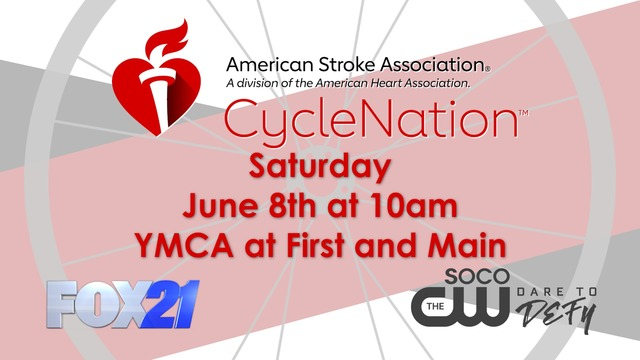 Join FOX21 at CycleNation to benefit the American Stroke Association