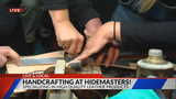 Hidemasters makes handcrafted leather products here in Colorado